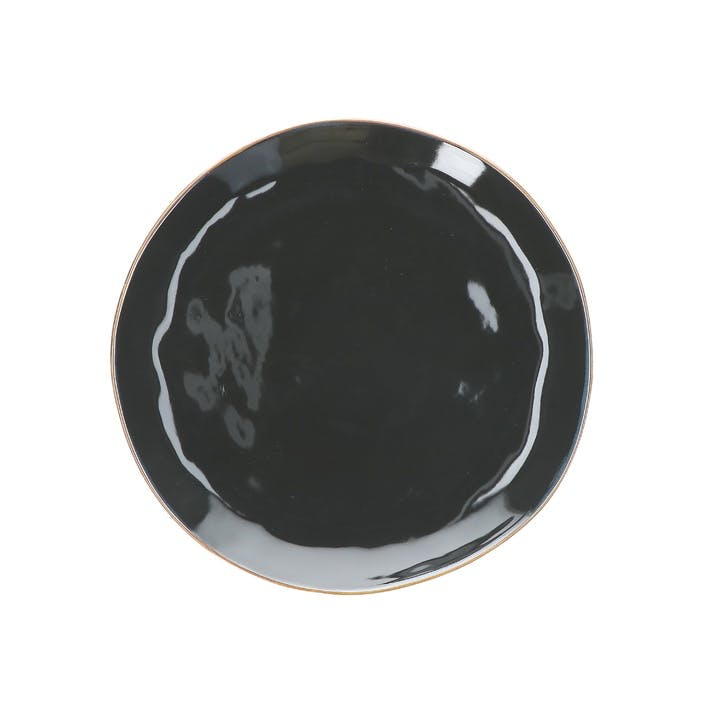 Concerto Dinner Plate, Black