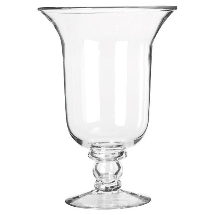 Glass Hurricane Lamp, Medium