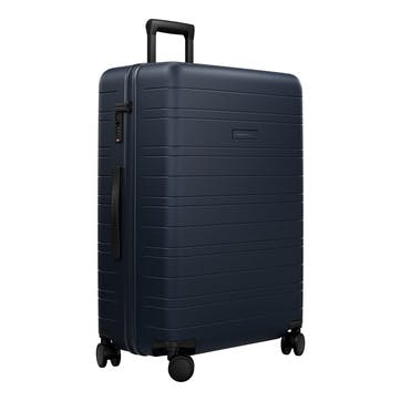 H7, Large Check-In Trolley Suitcase, W52 X H77 X D28cm, Night Blue