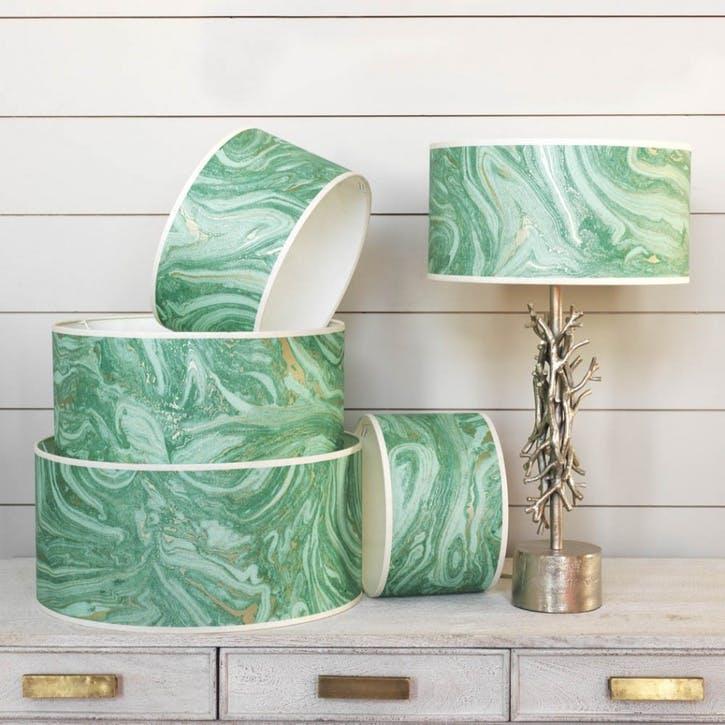 """Makrana Emerald 16"""" Lamp Shade"""