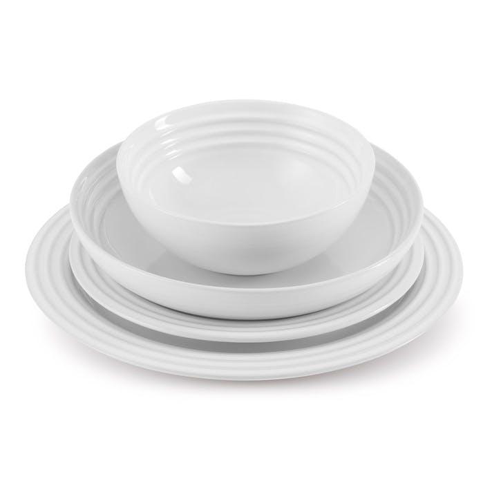 Side Plate - 22cm; White