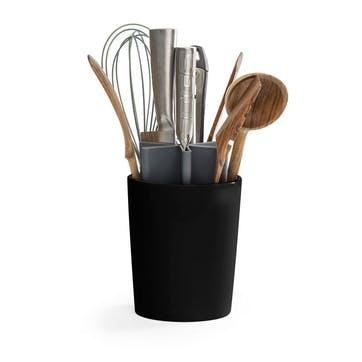 Kitchen Organiser, Matt Black/Grey