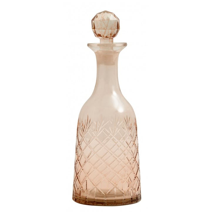 Blush Decanter