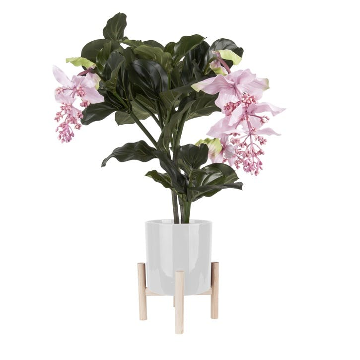 Trestle Plant Pot, White