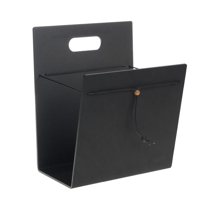 Magazine Holder, Medium, Black
