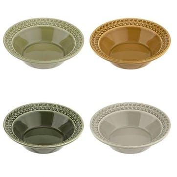 Botanic Garden Harmony Cereal Bowls, Set of 4