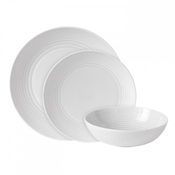 Gordon Ramsay Maze 12 Piece Set, White