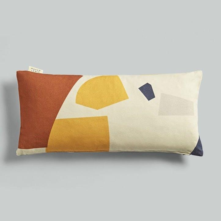 Lumbar, Roger Lewis Collaboration, Cushion, H27 x W55cm, Fragment