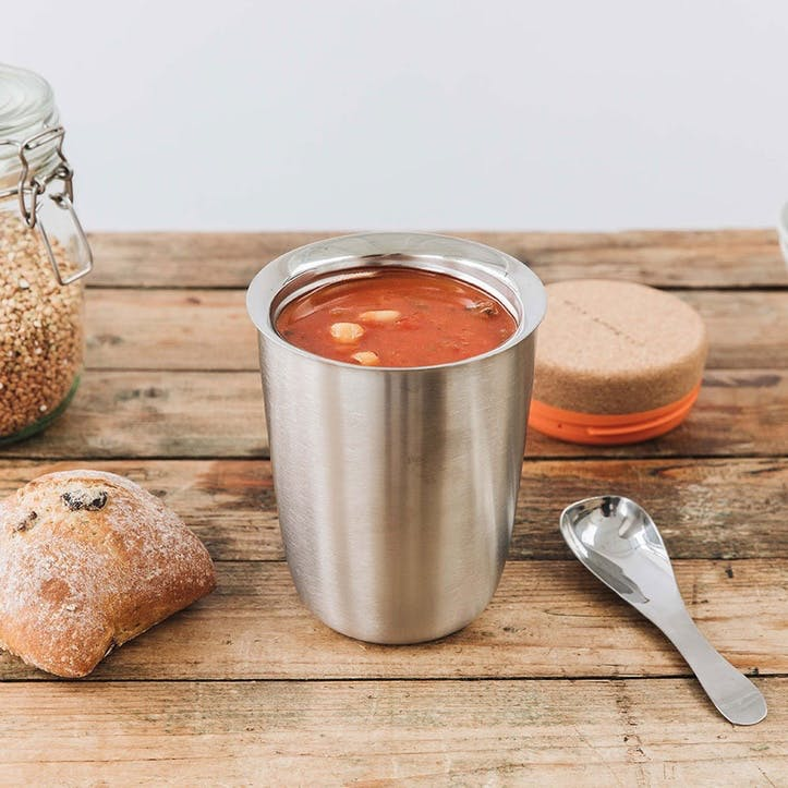 Thermo Pot, 550ml, Stainless Steel