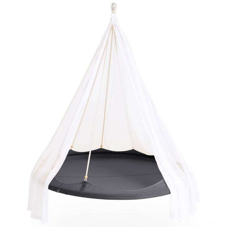 TiiPii Nomad Hanging Bed - 1.5m; Charcoal