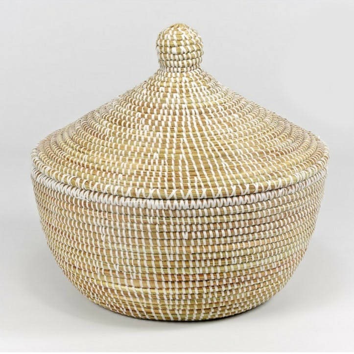Small Ali Baba Basket, Natural