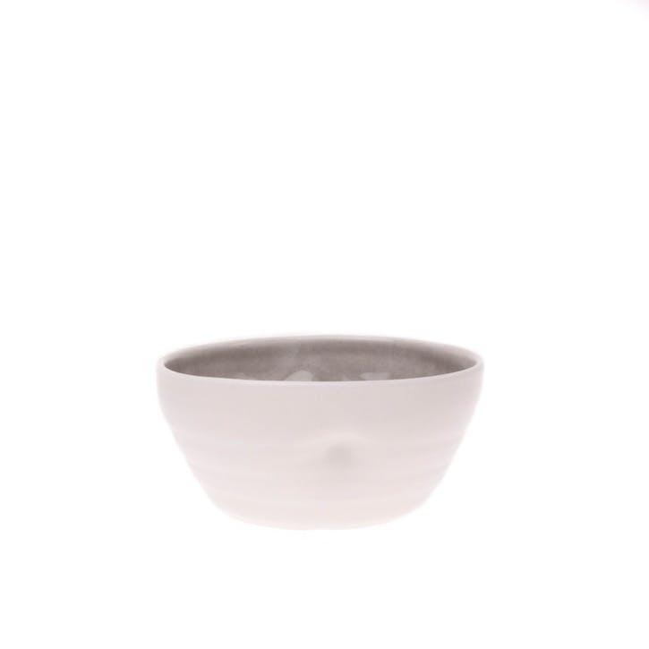 Pinch Cereal Bowl, Grey