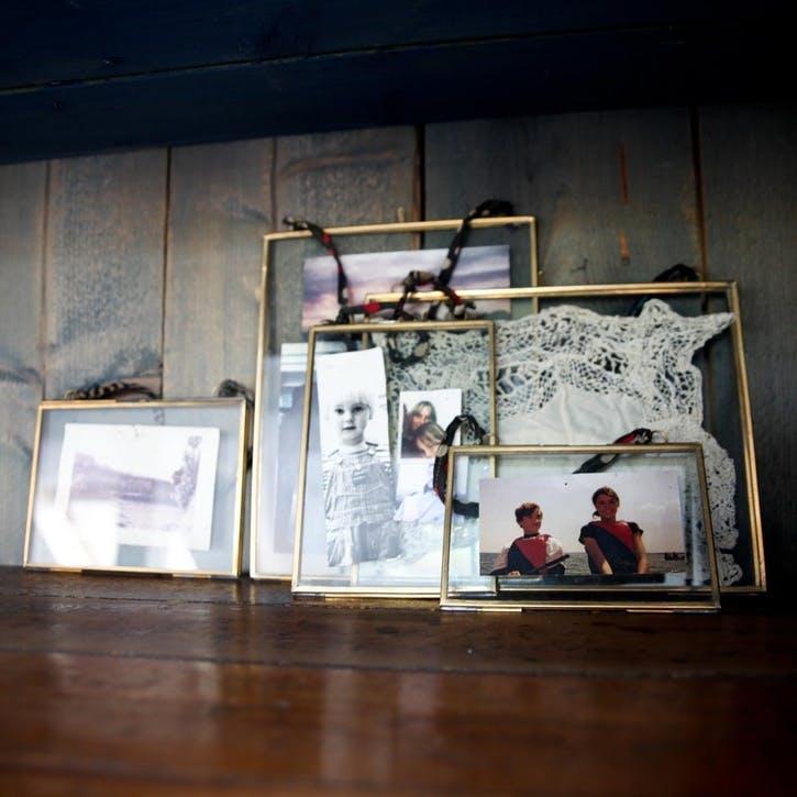 """Kiko Brass Frame - 5 x 7""""; Portrait"""