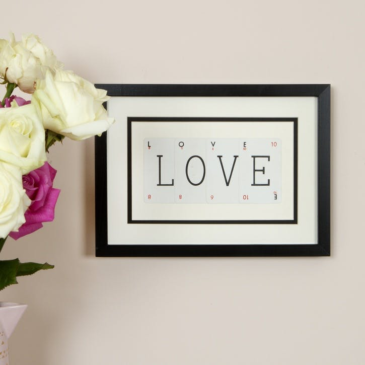 'Love' Word Frame