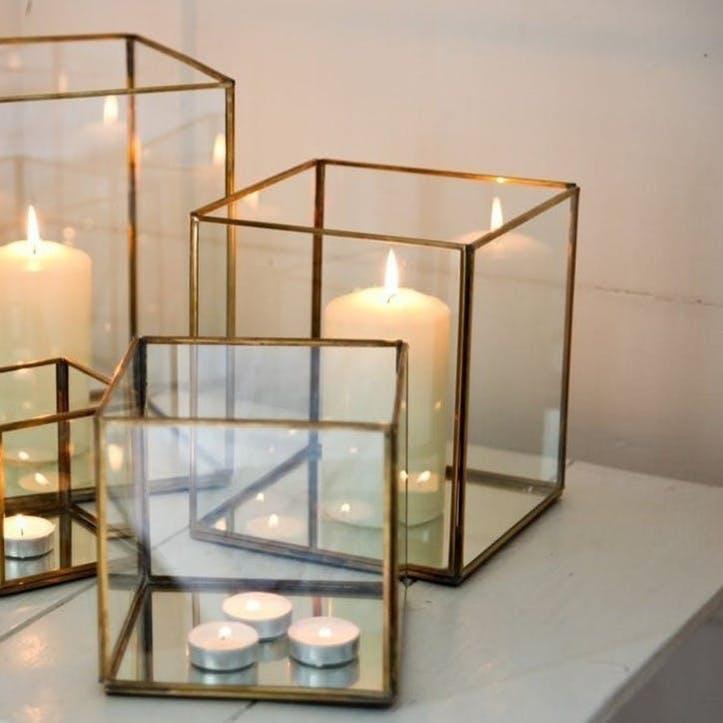 Bimala Brass Lantern - Medium