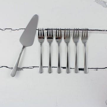 Windsor Cutlery, 7 Piece Cake Set