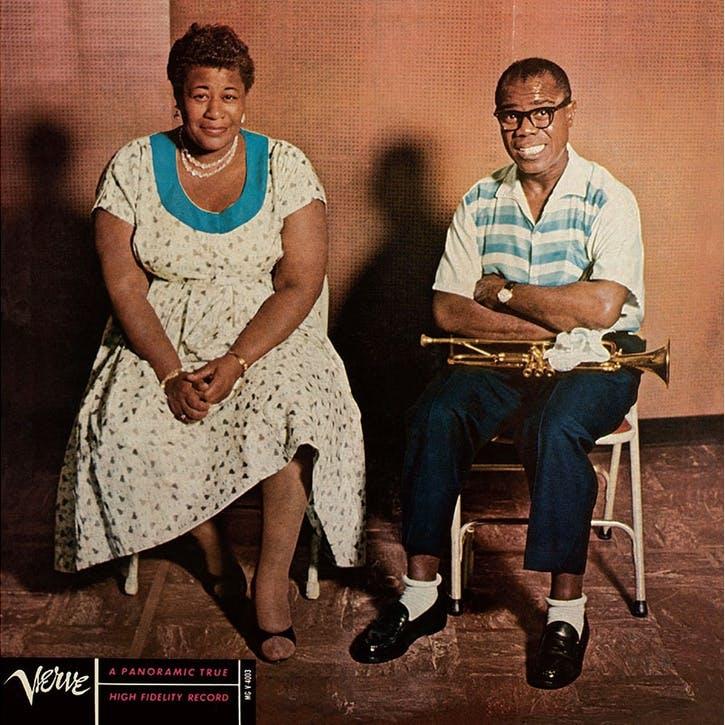 "Ella Fitzgerald and Louis Armstrong, Ella & Louis 12"" Vinyl"