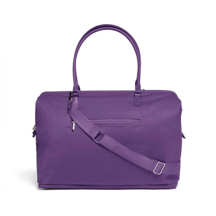 Lady Plume Weekend Bag, Light Plum