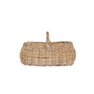 Bembridge Forage Basket, Rattan