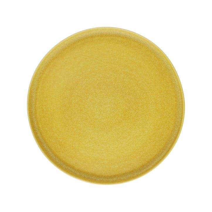 Nona Dinner Plate, Yellow