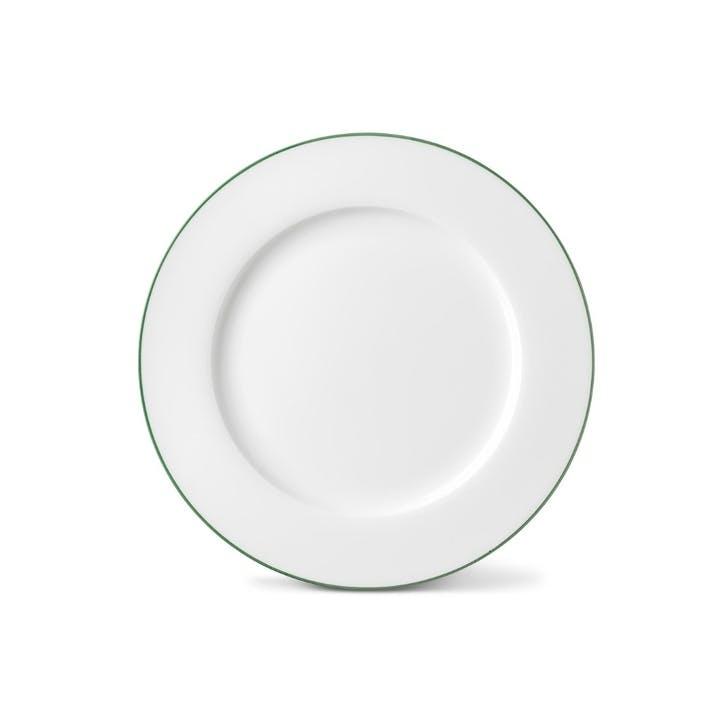 Rainbow Dinner Plate, Jungle Green