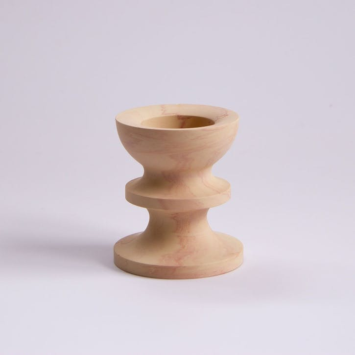 Scala Candle Holder, Apricot