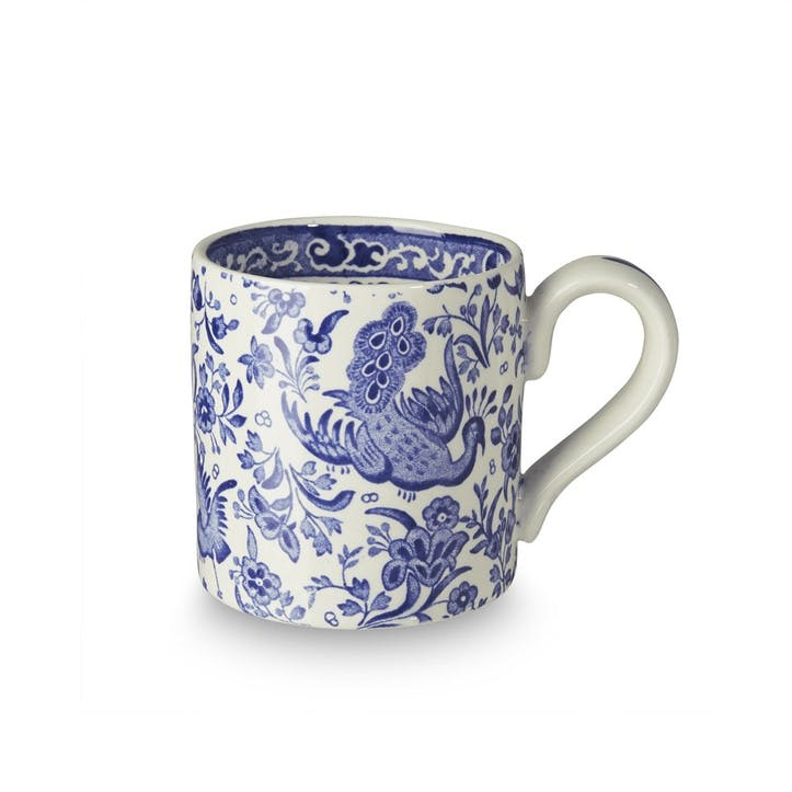 Regal Peacock Mug, 284ml, Blue