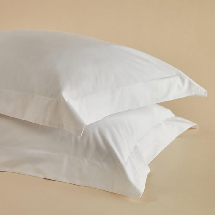 Crisp & Cool Organic Oxford Pillowcases, Set of 2