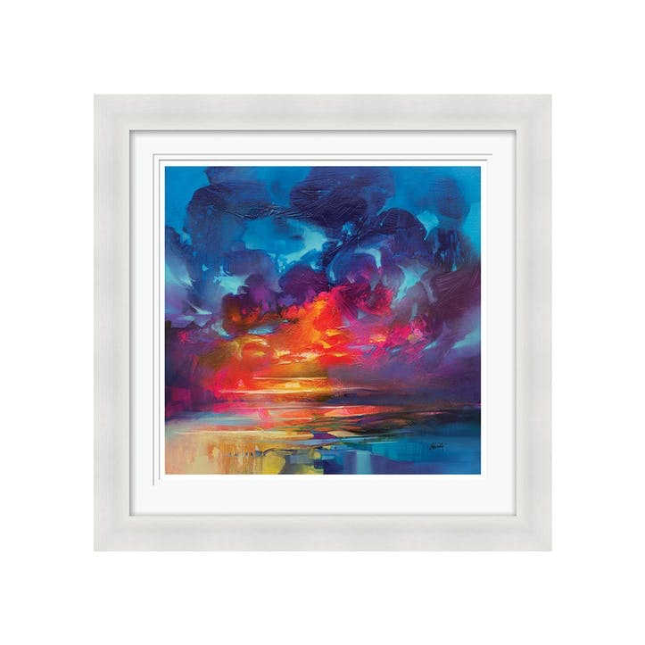 Scott Naismith Liquid Light Framed Print, 71 x 71cm