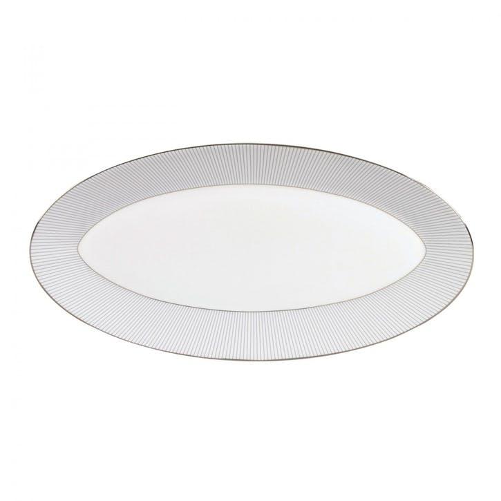 Pin Stripe Oval Dish, Large
