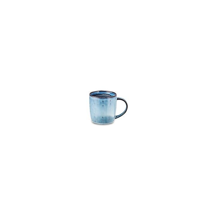 Dakara Handled Mug; Grey