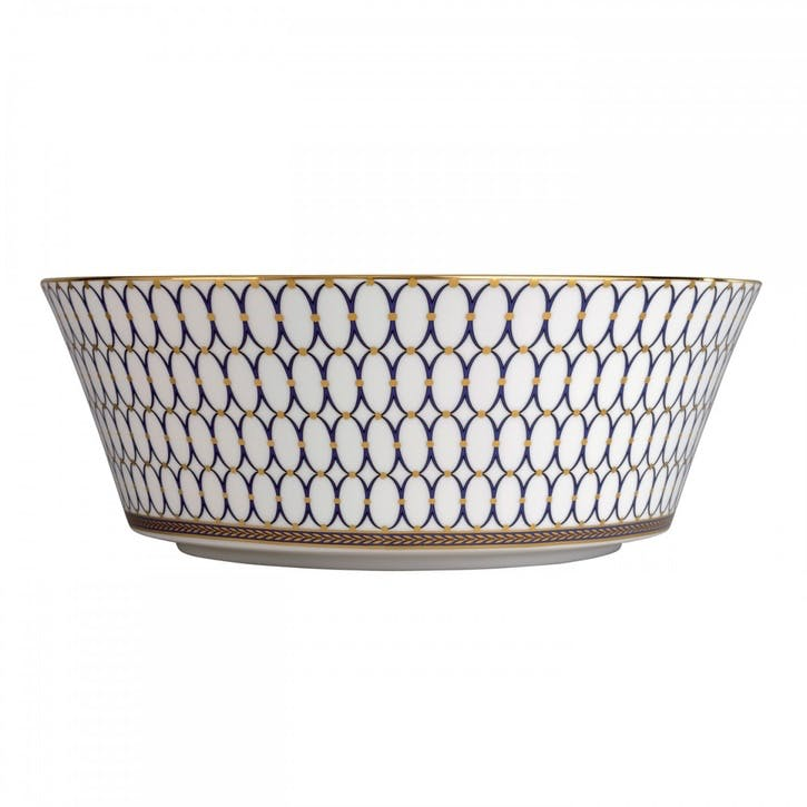 Renaissance Gold Round Serving Bowl
