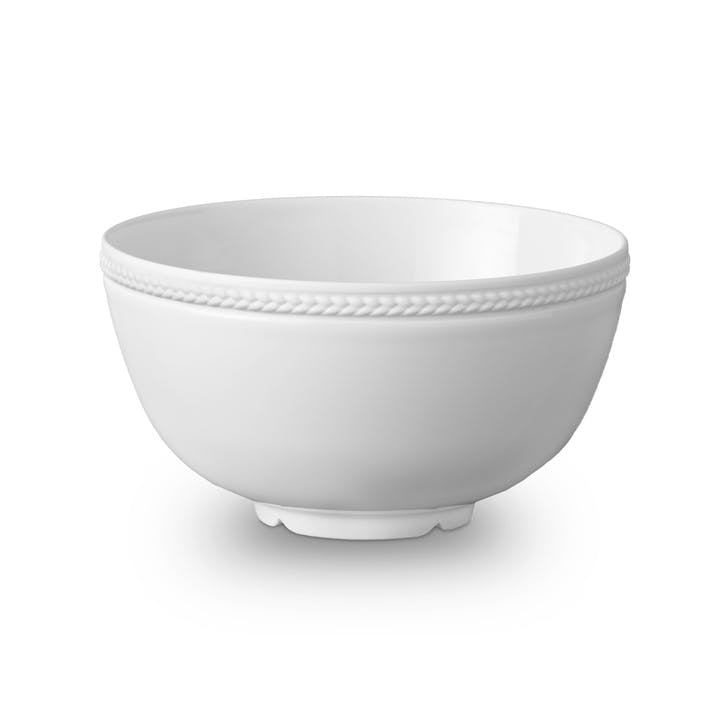 Soie Tressée Cereal Bowl, White