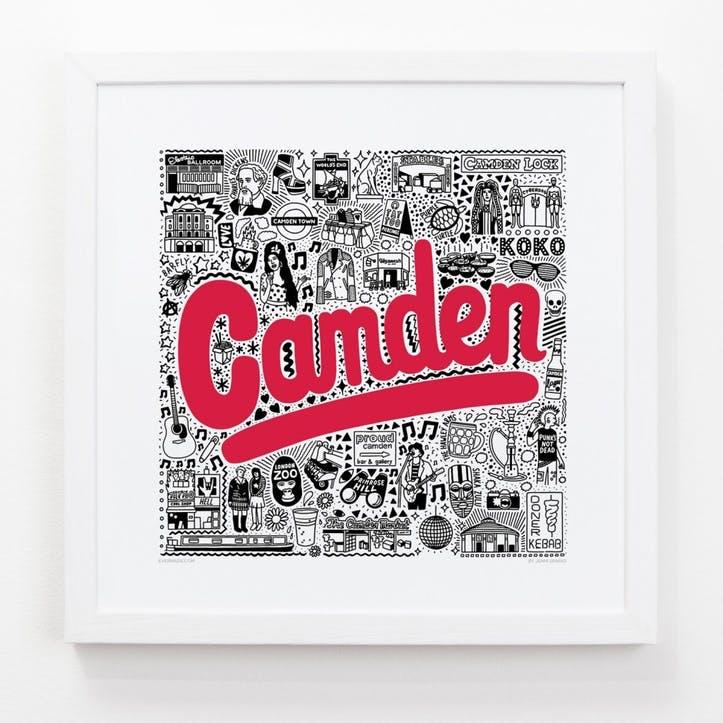 Hometown Camden Print, 33cm