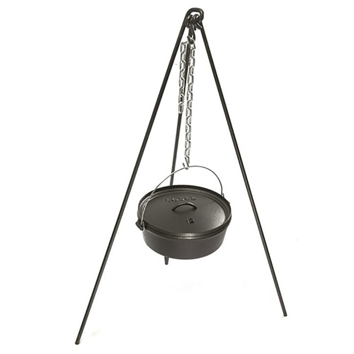 Camp dutch oven tripod