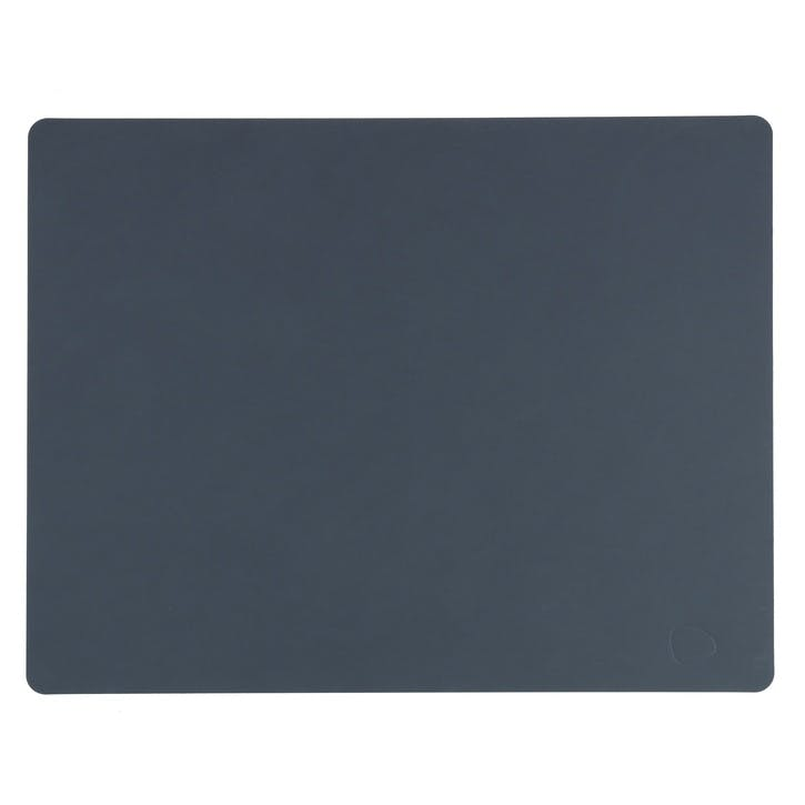 Rectangular Placemat, Set of 4, Dark Blue