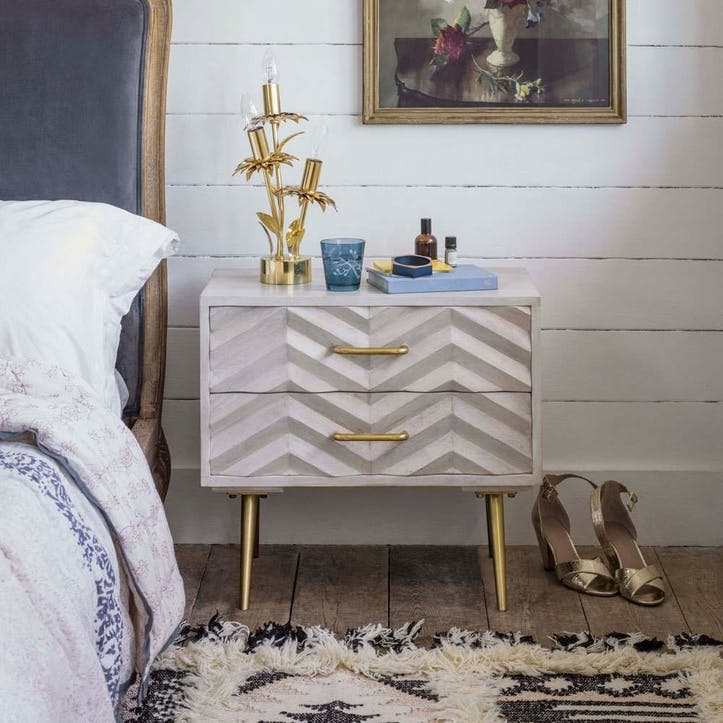 Ariella Chevrion Bedside Table