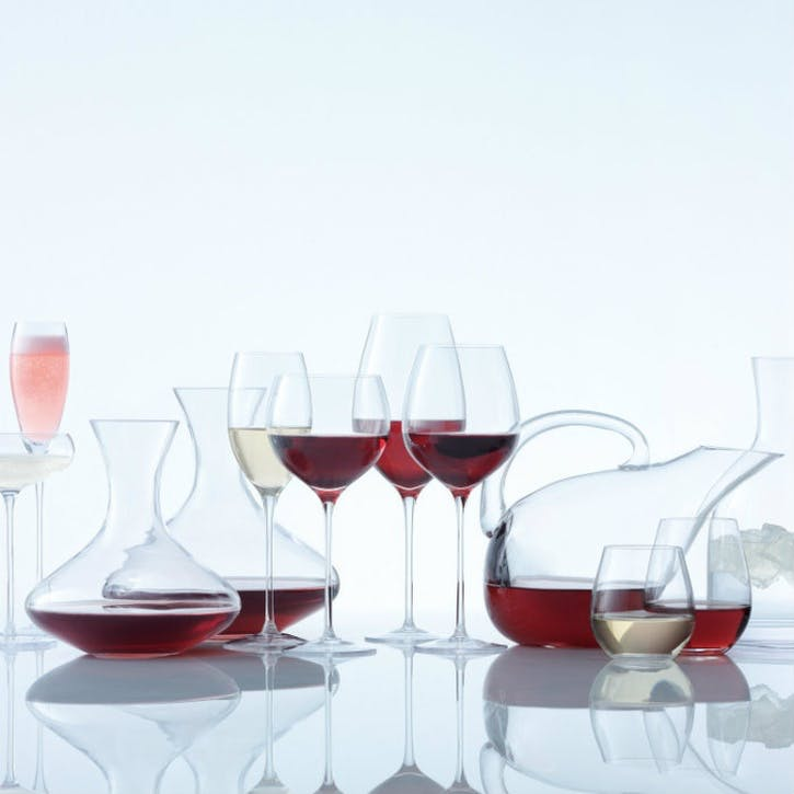 LSA Wine Red Wine Goblet 420ml, Set of 4