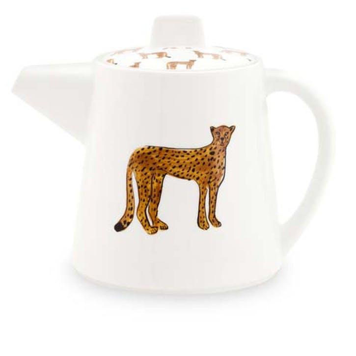 Cheetah Teapot, Large