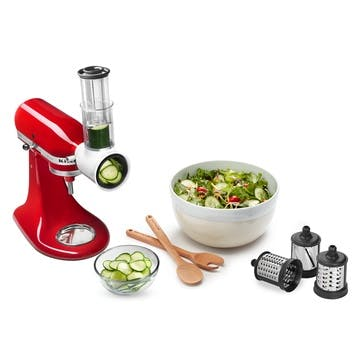 Shredding And Grating Stand Mixer Attachments, 3 Pieces