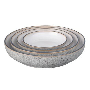 Studio Grey Nesting Bowl Set, 4 Pieces