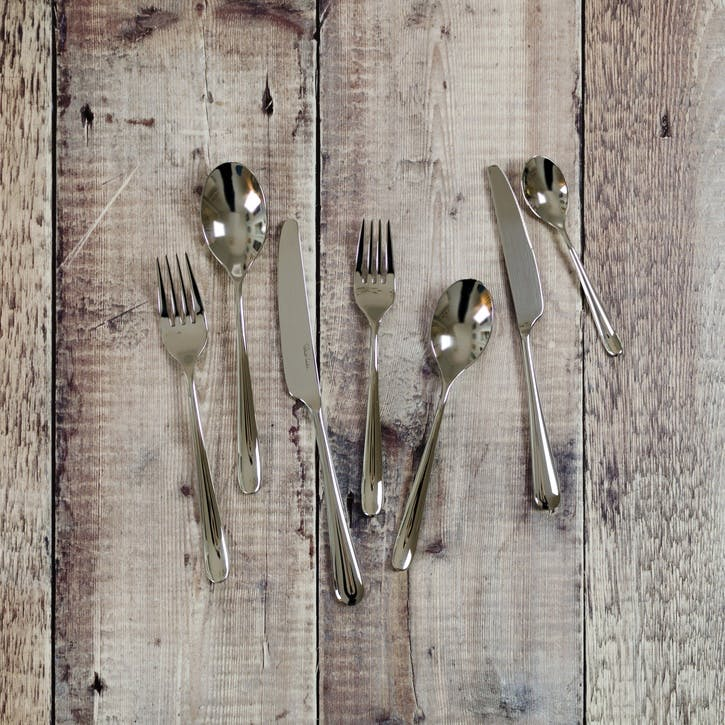 Kingham Bright 42 Piece Cutlery Set
