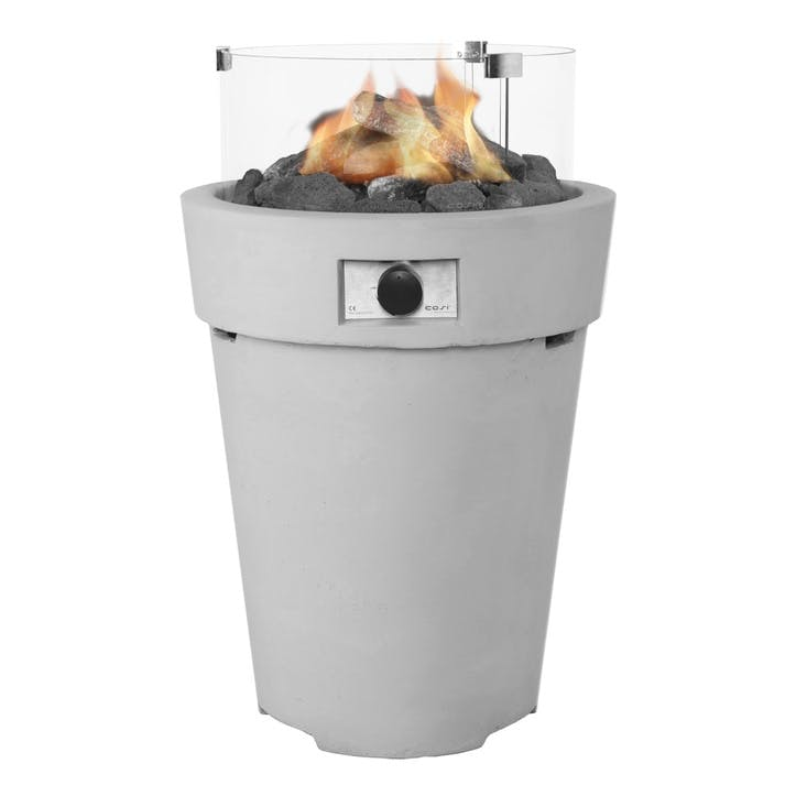 Cosidrum Fire Pit; Light Grey