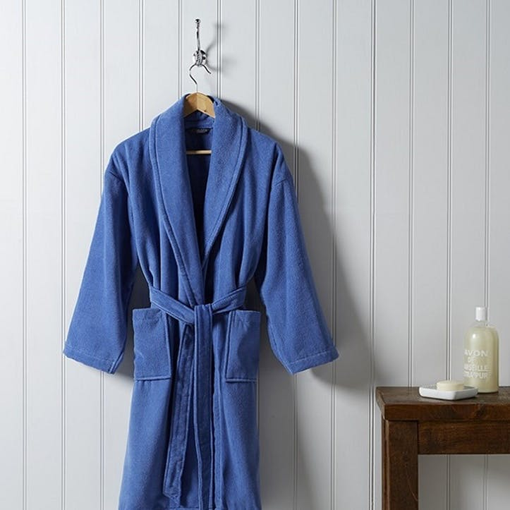 Supreme Supima Hygro Deep Sea Bath Robe, Medium