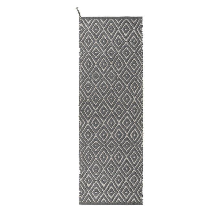 Upcycled Plastic Indoor/Outdoor Woven Rug, Steel