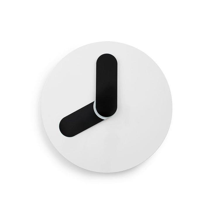 Bold Wall Clock D35cm Black & White
