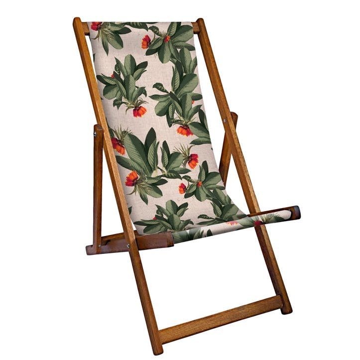Deckchair Tropical Leaves