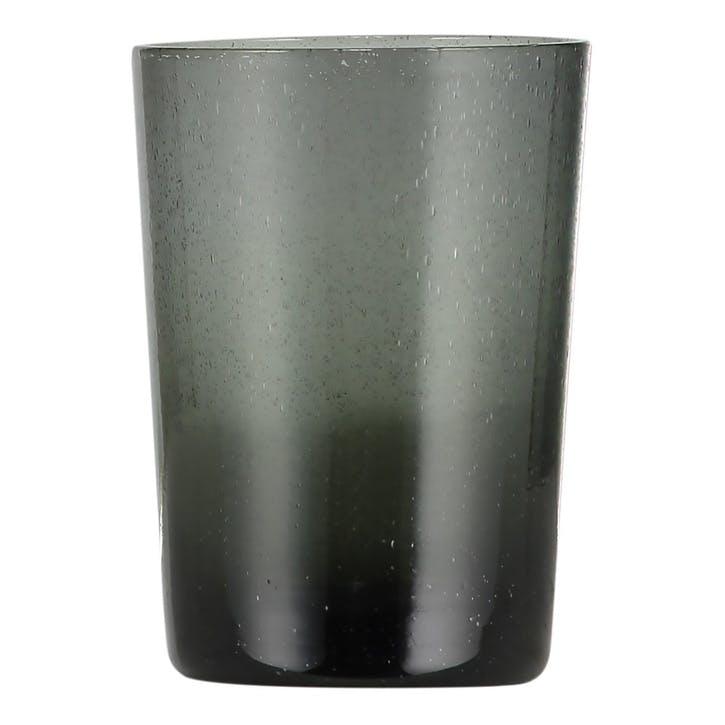 Tumblers, Set of 6, 340ml, Charcoal Grey