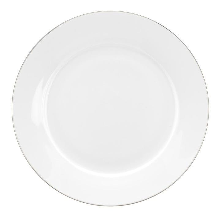 Serendipity Side Plate, Set of 4; Platinum