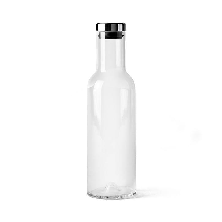 Bottle, Carafe, 1 Litre, Silver